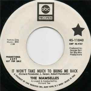 The Mamselles - It Won't Take Much To Bring Me Back download