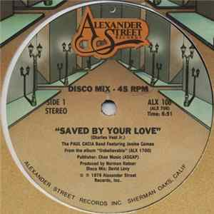 The Paul Cacia Band Featuring Janine Cameo - Saved By Your Love download