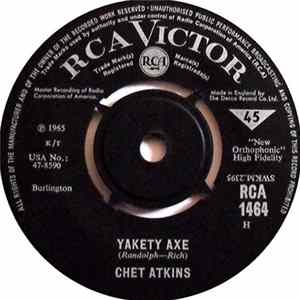 Chet Atkins - Yakety Axe / Letter Edged In Black download