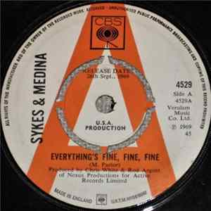 Sykes & Medina - Everything's Fine, Fine, Fine download